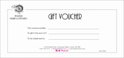 Gift Voucher Template Free Download & Complete Guide Example