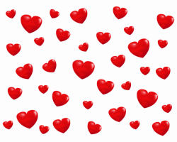 Little Hearts Overlay PNG - PHOTOS PNG