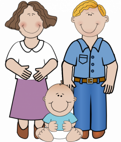 Free Clipart of Pregnant Women, New Mothers and Families