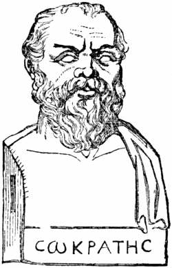 Bust of Socrates   ClipArt ETC