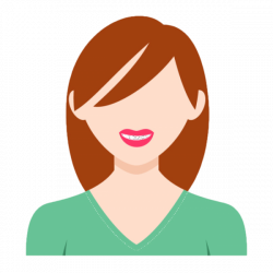 Girl Avatar, Long Hair, Green, Bust PNG Image and Clipart for Free ...