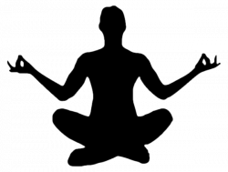 Female Yoga Pose Silhouette