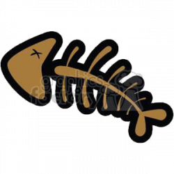 Royalty-Free dead fish fossil 380815 vector clip art image - EPS ...