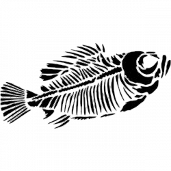 Skeleton Fish ( - ClipArt Best - ClipArt Best | Fish and art fish ...