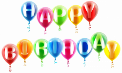 Happy Birthday Balloons PNG Clipart Image | Gallery Yopriceville ...