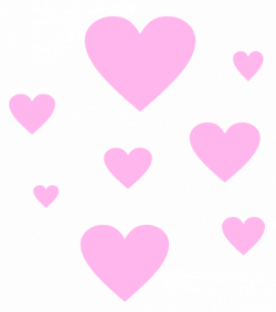 hearts png tumblr edit overlay - Sticker by