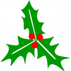 Christmas Holly Clip Art.Holly Clipart Small Picture 80508 Holly Clipart Small