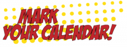Awesome Mark Your Calendar Clipart Design - Digital Clipart Collection