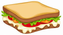 Sandwich PNG Clipart Vector Image   Gallery Yopriceville - High ...