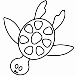 Turtles clipart outline, Picture #279221 turtles clipart outline