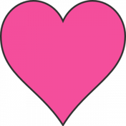 Pink Heart Free Clipart