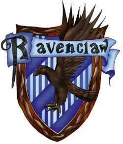 Ravenclaw Crest by PiichixChan on DeviantArt