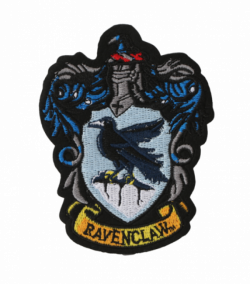 Ravenclaw Crest Embroidered Patch l Harry Potter Shop on Platform 9 3/4