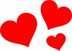Clip art - red heart 2400*1706 transprent Png Free Download - Heart ...