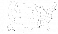 United states clipart blackline, Picture #281848 united states ...