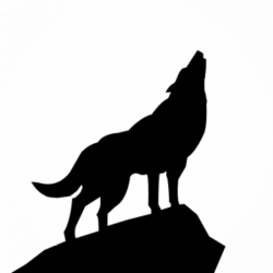 Werewolf Silhouette at GetDrawings.com | Free for personal use ...