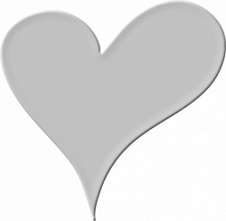 Heart in White Icons PNG - Free PNG and Icons Downloads