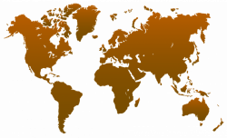 World Map transparent PNG - StickPNG