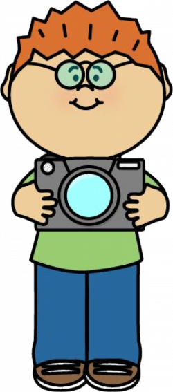 Class photographer - girl taking pictures with a camera. | Classroom ...